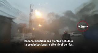 Honduras: Fuertes lluvias afectan gran parte del país
