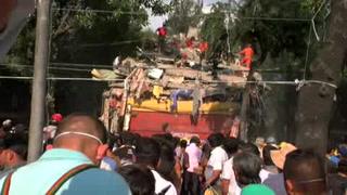 Suman 286 las víctimas mortales por el temblor en México