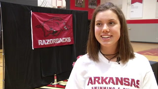 NCA's Molly Moore signs with Arkansas