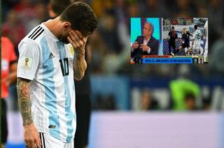 Periodistas argentinos explotan contra Messi: