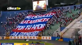 La Ultra Fiel y su duro mensaje al Olimpia