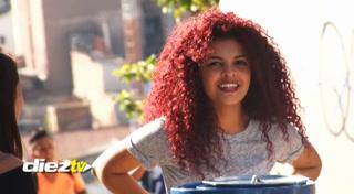 CURIOSO: La princesa Mérida apareció en las afueras del estadio Triburcio Carías Andino