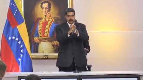 Maduro asegura que aceptará resultado de elecciones del domingo