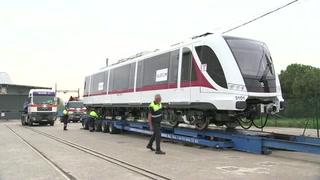 Sale de fábrica el primer tren parala Línea 3