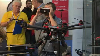 Sumergibles y contra incendios, las novedades en drones