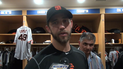 Madison Bumgarner discusses what went down with Wil Myers