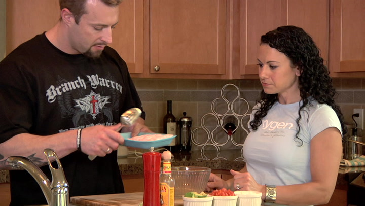 Day 71   Cooking with Christina: 12-Week Hardcore Daily Video Trainer With Kris Gethin