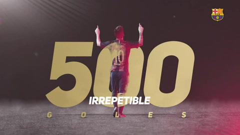 Emotivo video: Jugadores y excompañeros felicitan a Messi por sus 500 goles