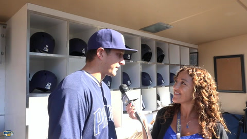 Alex Dickerson on making the most of his opp with the Padres