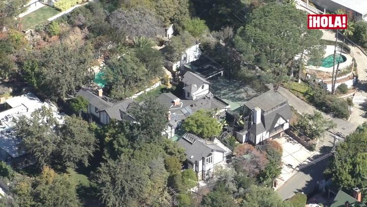Lady Gaga se instala en la antigua casa del mítico artista Frank Zappa