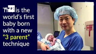 Desde Guadalajara, procedimiento de bebé con ADN de tres personas