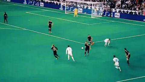 Cristiano hace el ridículo al intentar imitar jugada de Ronaldinho