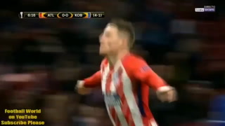 Atlético de Madrid avanzó a octavos de final de la Europa League