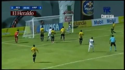 Yerson Gutiérrez anota para Honduras Progreso 3-1 ante Real España