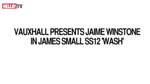 Jaime Winstone for James Small's SS12 Collection and Vauxhall
