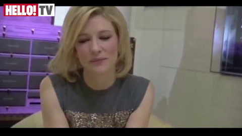 Cate Blanchett: \'The hair and make-up are very important in films\'