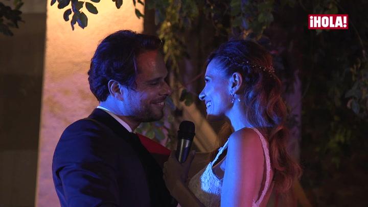 En vídeo: Elena Ballesteros y Juan Antonio Susarte al más puro estilo \'La La Land\' el día de su boda