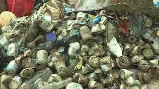 Buzos sacan 500 kilos de basura del mar en Panamá