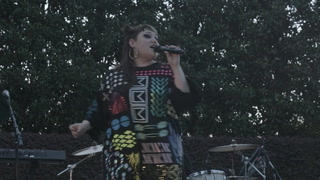 Beth Ditto Performs at Dallas Arboretum