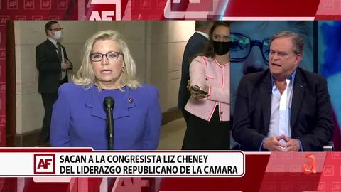 Republicanos destituyen a Liz Cheney de la jerarquía del partido tras sus constantes críticas al ex presidente Trump