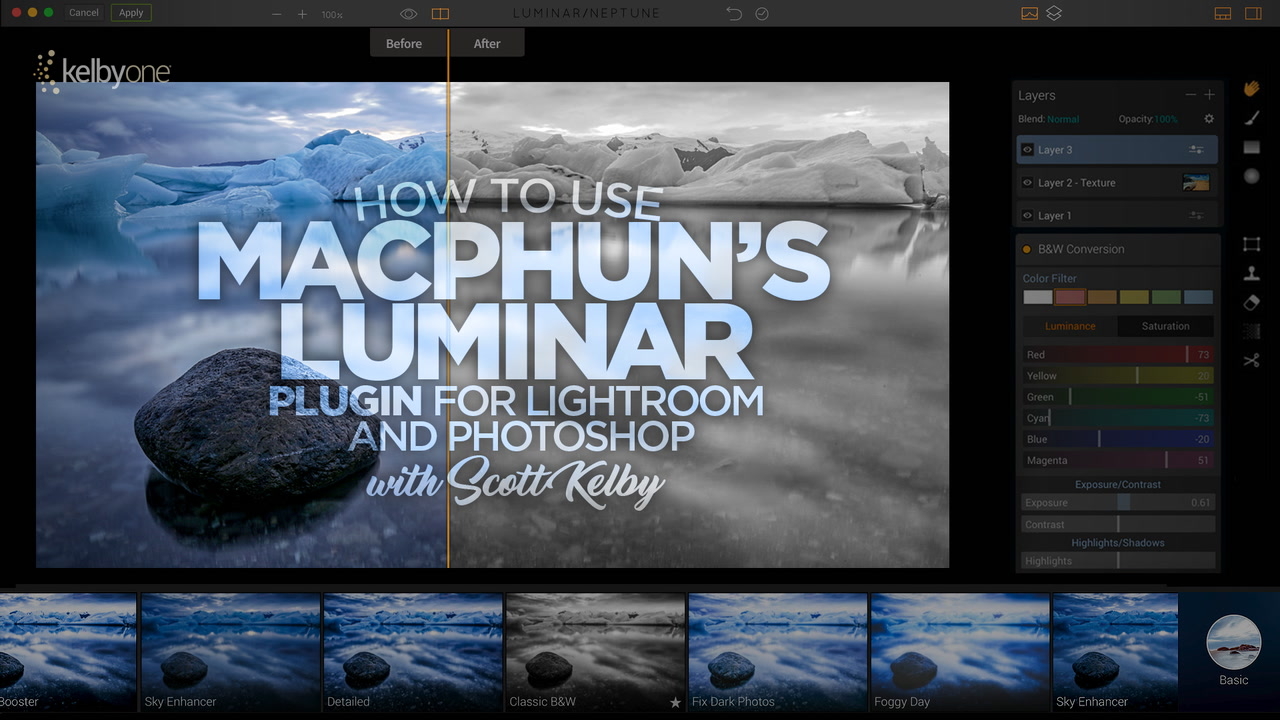 Accessing Luminar from Photoshop and/or Lightroom