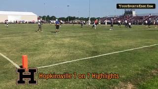 Hopkinsville 7 On 7 Highlights
