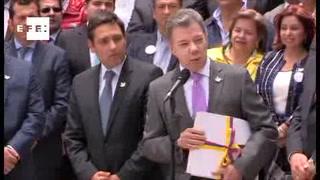 Santos declara alto al fuego definitivo con las FARC