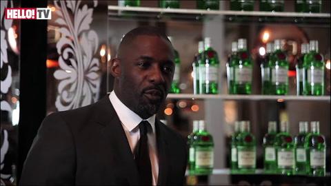 Idris Elba talks to HELLO! at the Tanqueray Gin Palace