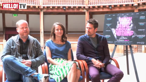 HELLO! speaks to Joss Whedon, Amy Acker and Alexis Denisof about Much Ado