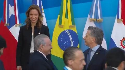 Mercosur llamó a Venezuela a restablecer el orden constitucional