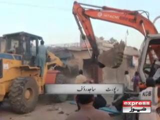 کراچی، صدر کےعلاقے میں تجاوزات کے خلاف آپریشن آخری مراحل میں داخل