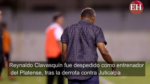 Reynaldo Clavasquín fue separado del Platense tras derrota ante Juticalpa