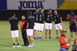 Así fue la llegada y el reconocimiento de cancha de la selección de Costa Rica