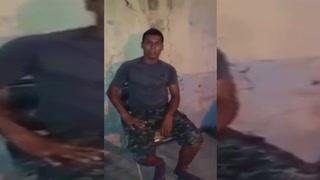 Hondureño desmiente que fuese golpeado y desnudado por militares en el centro de Juticalpa03