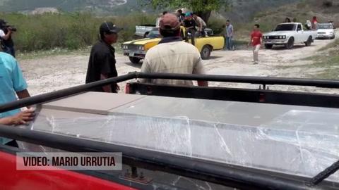 Familiares despiden y sepultan a víctimas de masacre en Tegucigalpa