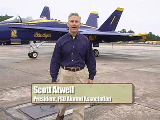 Florida State alumnus is an angel ... a Blue Angel!