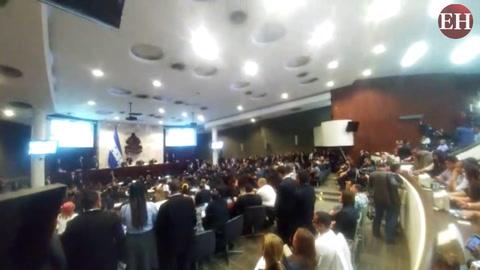 Se elige junta directiva en propiedad del Congreso Nacional