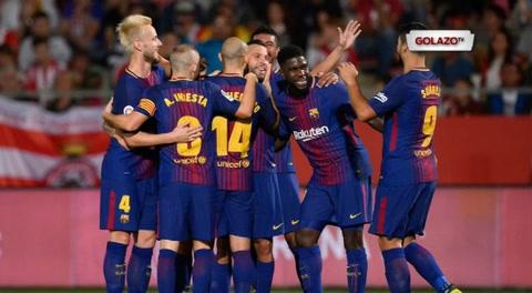 Girona FC 0-3 FC Barcelona (Liga de España)