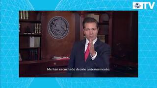 Peña Nieto presume creación de empleos