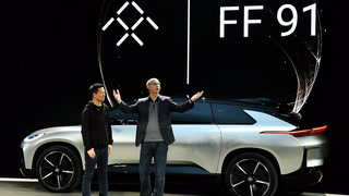 Faraday Future stumbles in its CES concept car debut
