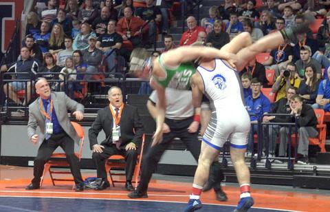 Peyton Hudspeth State Wrestling