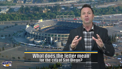 Kaplan: What does the letter mean for San Diego?
