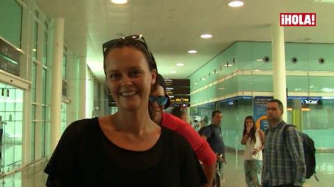 Shaila Dúrcal, recién llegada a España donde se instalará una temporada