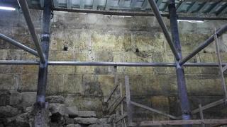 Israel descubre una parte oculta del Muro de los Lamentos