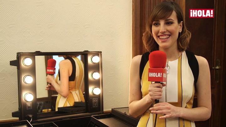 Natalia de Molina: \'Estoy viviendo un sueño que quiero disfrutar de verdad\'