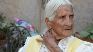 Mujer de 116 años cuenta su 'receta'