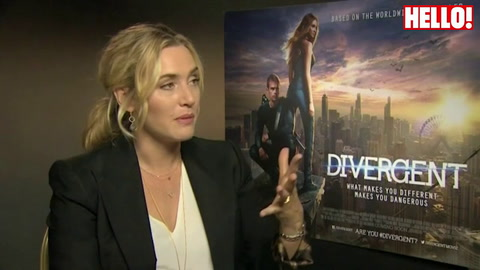 Kate Winslet: \'Little Bear will be able to see Divergent in 10 years time\'