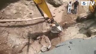 Socavón deja una lección para mejoras en obras: SCT