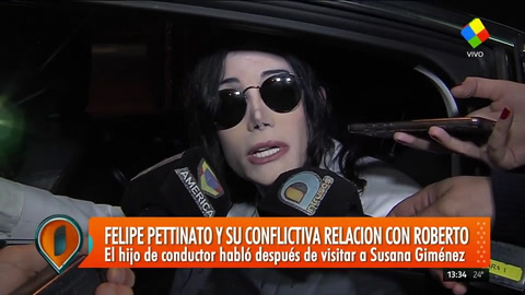 Felipe Pettinato habló con Intrusos sobre la difícil relación que tiene con su padre