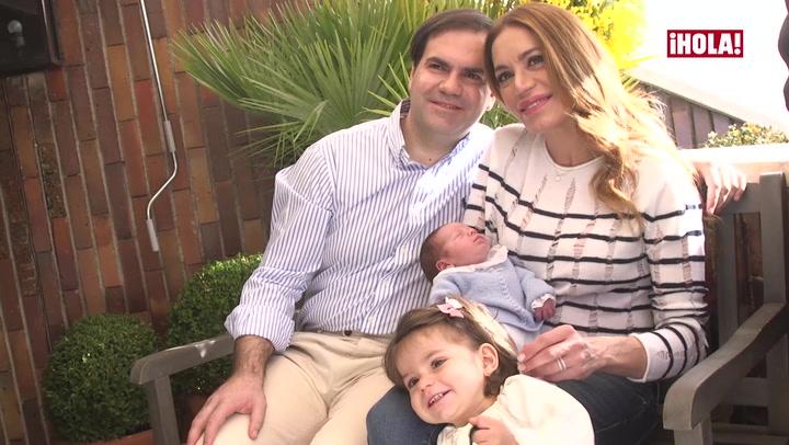 Gema Ruiz nos presenta a su cuarto hijo y... ¡descubrimos lo terremoto que es Julieta!